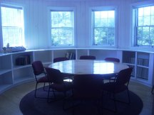 The round-table room