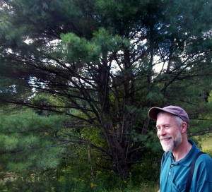 Jim Sparrell in the Goddard woods