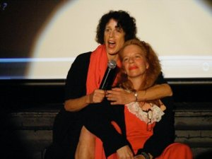 Lise Weil and Katt Lissard performing in the cabaret in recent years