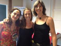 SBC Graduates Nina Smolyar, Kyla Basher, and Krista Gromalski