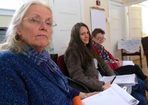 Susan Pearson, Sarah Van Hoy and Karen Campbell
