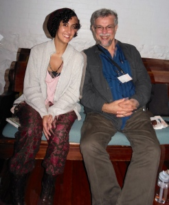 Miriam Gabriel with storyteller Doug Lipman