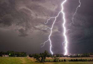 One of Stephen Locke's weather photos