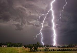 One of Stephen Locke's weather photos