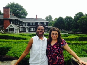 Ruth and Caryn at Goddard
